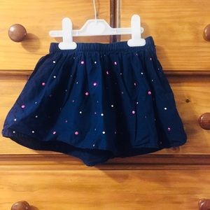 🆕 Gap Navy Blue Skirt